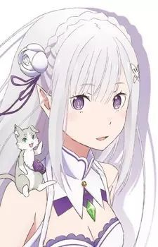 Looking for information on the anime or manga character Emilia? On MyAnimeList you can learn more about their role in the anime and manga industry. Anime Neko, All Anime, Me Me Me Anime, Anime Manga, Anime Art, Anime Girl Cute, Kawaii Anime Girl, Re Zero Wallpaper, Chibi