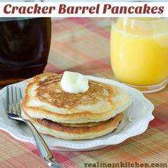Cracker Barrel Pancakes | realmomkitchen.com
