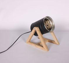 Table Lamp Wood, Wood Lamps, Casa Hipster, Articles En Bois, Diy Projects Handmade, Diy Luz, Luminaria Diy, Unique Floor Lamps, Diy Light Fixtures