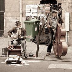 Blues musicians, Paris