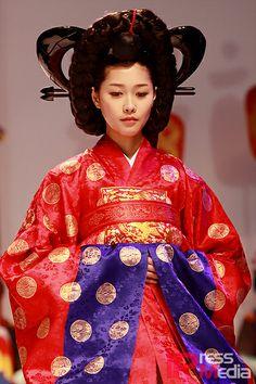 Korean traditional wedding - queen