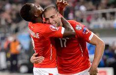 Suiza vapulea 7-0 a San Marino y asegura su participación en la Euro 2016 - España sentenció su pase a la Eurocopa 2016 con un triunfo sobre Luxemburgo (4-0), marcado por las lesiones de David Silva y Álvaro Morata, en un d...