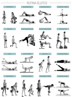 ideas for fitness ejercicios pierna Training Fitness, Planet Fitness Workout, Yoga Fitness, Butt Workout, Gym Workouts, At Home Workouts, Gym Routine Women, Aerobics Workout, Fitness Design