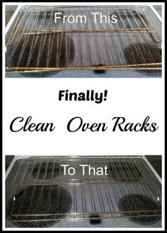 How to Clean Oven Racks #clean #oven www.couponingtobedebtfree.com