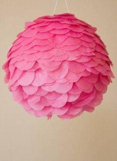 DIY Como hacer una piñata de pétalos