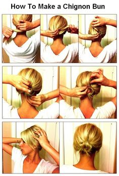 How To Make a Chignon Bun