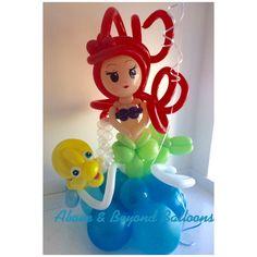 Balloon little mermaid Ariel