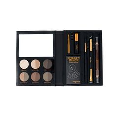 Profusion Cosmetics  Brows  Professional Eyebrow Powder Highlighter Eyebrow Wax Eyebrow Gel Eyebrow Pencil Brushes Plucker Included >>> Be sure to check out this awesome product. (This is an affiliate link)