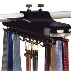 Rotating Tie Rack by Richards Homewares $29.99