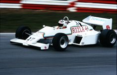 Jean-Louis Schlesser (FRA) (RAM Automotive Team March), March-RAM 01 - Ford-Cosworth DFV 3.0 V8 (finished 6th)  1983 Race of Champions, Brands Hatch - Great Britain
