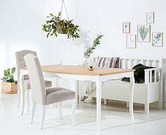 Komplett étkezőgarnitúrák, asztalok, székek, padok