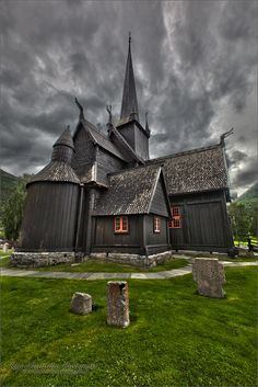Stavkirke in Lom, Norge | Flickr - Photo Sharing!