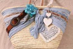 Strandtas Diy Embroidery Crafts, Diy Straw, Handbag Tutorial, Straw Handbags, Ibiza Fashion, Beautiful Handbags, Clothes Horse, Handmade Bags, Cute Bags