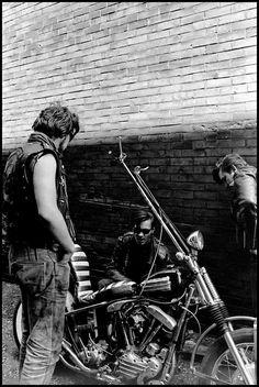 Danny Lyon USA. Milwaukee, Wisconsin. 1965. Chopper