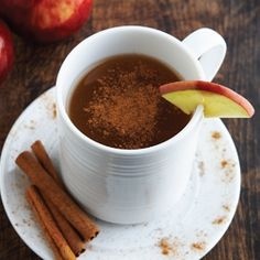 The very best spiced apple cider recipe by Wolfgang Puck.