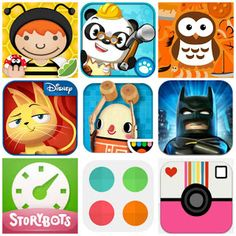 Our Favorite Kid (and Mommy) Apps - Summer 2013 #apps #kids #tech