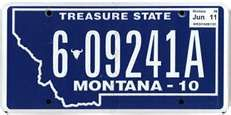 This is the official license plate for the state of Montana as it has been officially adopted by the state legislature. Also known as a vehicle registration plate, it is used to identify the car and owner of a motor vehicle or trailer in the state. Big Sky Montana, Montana Living, State Mottos, License Plate Art, Vanity Plate, Big Sky Country, Number One, Writing A Book, New Mexico