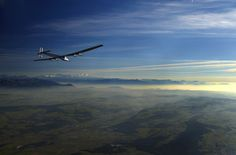 Solar-Powered Aircraft Test Flight By Denis Balibouse