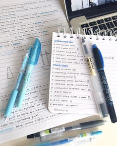 "10k Likes, 108 Comments - sarah (@studeying) on Instagram: ""Chemistry notes ft. my failed drawings + my to do list ☄️ I have a lot to do for literature #dead"""