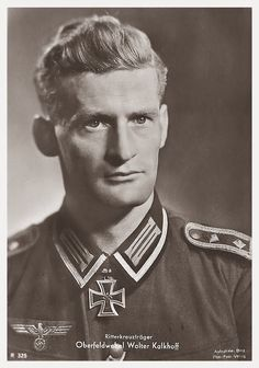 ✠ Walter Kalkhoff (19.02.1913 - 09.02.1960) RK 26.05.1940 Unteroffizier Gruppenführer i. d. 1./Inf.Rgt 67 23. Infanterie-Division