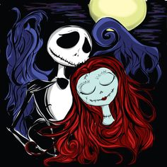 Jack and Sally by exist-exit on deviantART