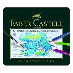 Faber-castell Albrecht Durer Watercolour Pencils, Tin Of 24 at $82.20 in Art Pencils