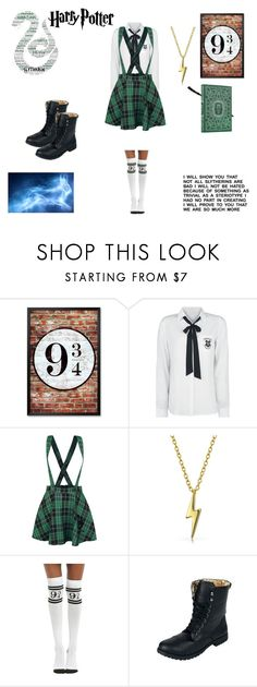 """""""first year in hogwarts"""" by ragnar20 on Polyvore featuring Bling Jewelry and Warner Bros."""