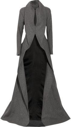 Wool and Cashmere-blend Coat - This is amazing... and expensive... and I'd have no wear to wear it... but it's ridiculously awesome.