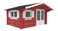 Interflex 4x5 blokhut Outdoor Living, Shed, Outdoor Structures, Outdoor Life, The Great Outdoors, Outdoors, Sheds, Tool Storage, Barn