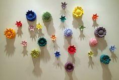 """Wall Flowers""  Melissa Parrott"