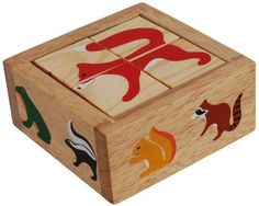 Backyard Buddy Wood Puzzle