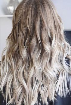 25 Best Blonde Balayage Hair color Ideas 2018