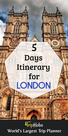 5 Days Itinerary For London By TripHobo