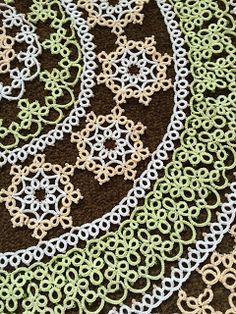 Tatting and not a lot else! Doilies, Needle Tatting Tutorial, Shuttle Tatting Patterns, I Give Up, Animal Print Rug, Crochet Patterns, Sewing, Projects, Withdrawal Symptoms