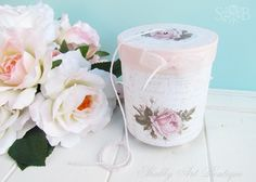 A simple box of twine. . . - Shabby Art Boutique