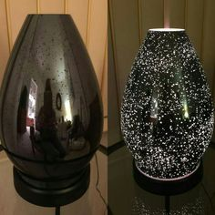 Here's the on and off version of our NEW Reflect essential oil Diffuser.  This one is so beautiful!  Tired of your ugly old diffuser?  It might be time to try Scentsy.  You can use any brand essential oils in our Diffuser and still receive our lifetime warranty. :) https://sheridadouglass.scentsy.us