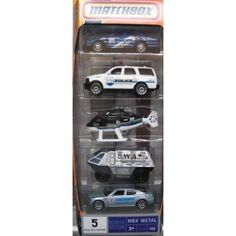 Mattel Matchbox Police 5 Pack 1:64 Scale Die Cast by Mattell. $44.44