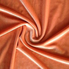 Fabric Wholesale Stretch Velvet Fabric Peach Fabric By The Yard Sewing Fabric #FabricWholesaleDirect