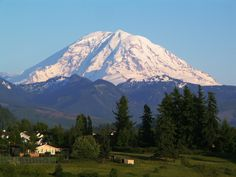 Mount Rainier, Olympia, Washington