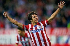 Jubel von Atletico Madrids Oliver Torres