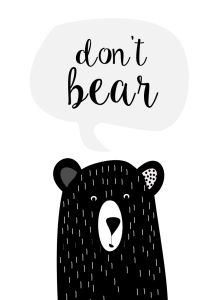 plakaty czarnobiale dla dzieci bear Baby Wall Art, Art Wall Kids, Nursery Wall Art, Art For Kids, Stencil Animal, Scandinavian Nursery, Bear Theme, Kids Poster, Baby Boy Rooms