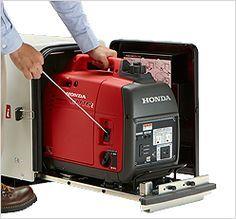 Résultat d'images pour Honda Generator Enclosure Cargo Trailer Camper Conversion, Sprinter Van Conversion, Camper Van Conversion Diy, Trailer Axles, Overland Trailer, Cargo Trailers, Travel Trailers, Generator Shed, Honda Generator