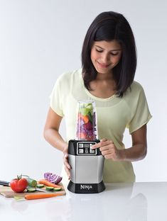 Price: (as of - Details) The Nutri Ninja with Auto-iQ takes the guesswork out of drink making. Auto-iQ Technology features intelligent programs that combine unique timed pulsing, blending and pausing patterns that do the Rocket Blender, Mini Blender, Nutritious Smoothies, Smoothie Detox, Best Blenders, Frozen Drinks, Yummy Drinks, Cleanser