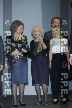 Queen Sofia and Duchess of Alba