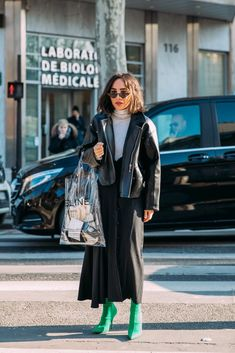 Day 2 | Street Style at Paris Fashion Week Fall 2018 | POPSUGAR Fashion Photo 1