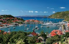 St. Barths - my yacht was in there somewhere, just not the gigantic 4 story one with golden dual staircases :)