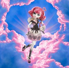 Cupid Monster High doll
