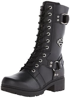 Harley-Davidson Women's Eda Motorcycle Boot, Black, 8.5 M US Harley-Davidson ..I HAD to get these too.. My LAST ones I ordered today so ordered a total of 4 pairs from Amazon.. $123.13