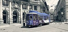 Il nostro Tram Milano è sempre molto indaffarato! photo by Ingrid #milanodavedere Milano da Vedere