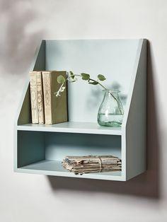 Wooden Shelf - Eau De Nil